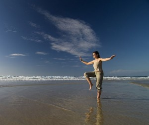Qigong and health benefits.