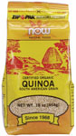 Kim Duess and Quinoa
