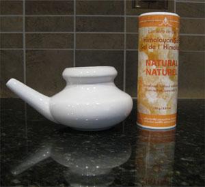 My Neti Pot and Sea Salt